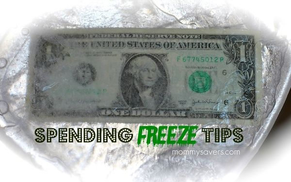 Tips to help stick to a spending freeze