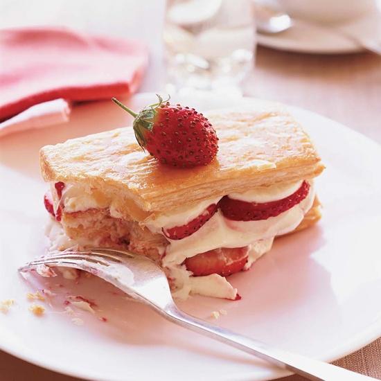 Strawberry Napoleons // More Amazing Strawberry Recipes: http://www ...