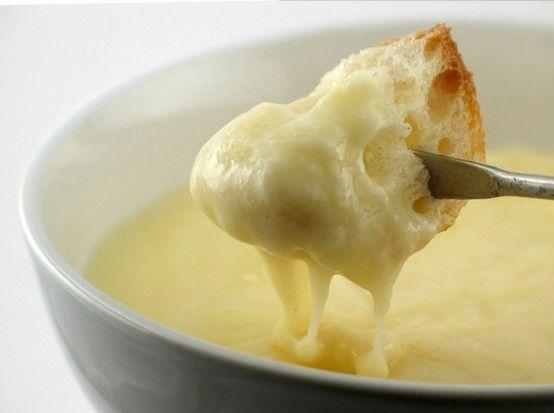 Cheese fondue | Recipes | Pinterest