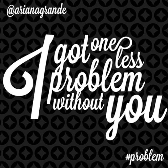 Problem lyrics