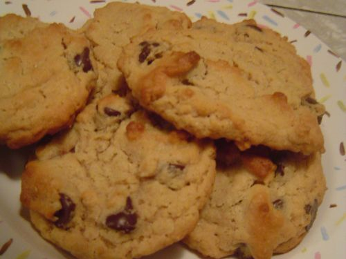 Oatmeal, Peanut Butter, Chocolate Chip Cookies
