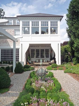 Covered Porch and Windows | Pursley Dixon