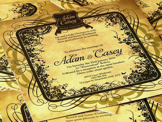 Garden wedding design ideas garden wedding invitations de for Garden wedding invitation designs