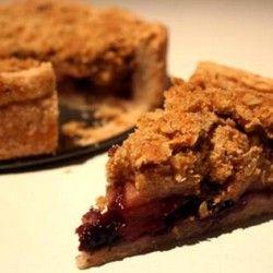 Cinnamon Crumble Apple Pie   desserts   Pinterest
