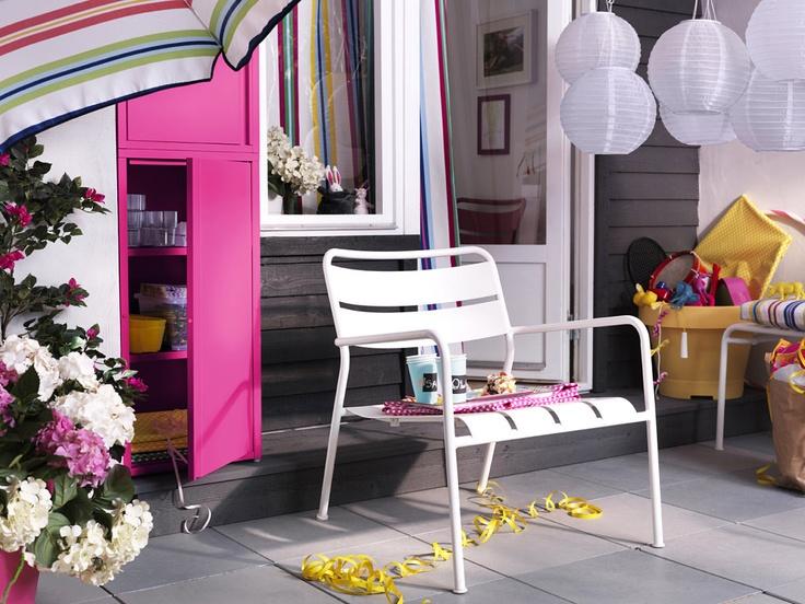 Decoracion de exteriores - Ikea 2012