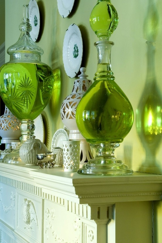 Dark green with sage green home design and decor pinterest for Green decorations for home