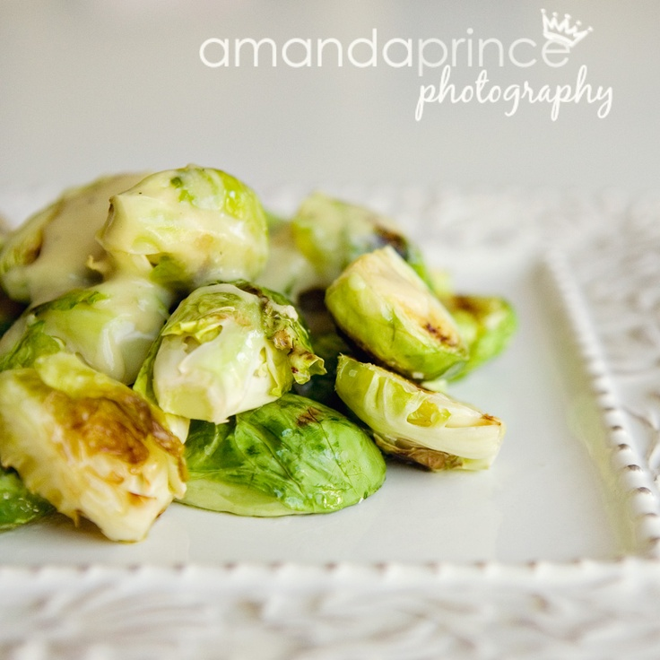 Pan-Grilled Brussel Sprouts | Food | Pinterest