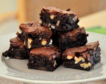 Fudgy Gluten Free Brownies with Walnuts   Must bake list   Pinterest