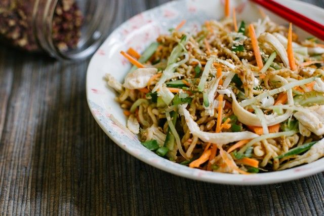 SICHUAN STYLE COLD NOODLE RECIPE | glorious food | Pinterest