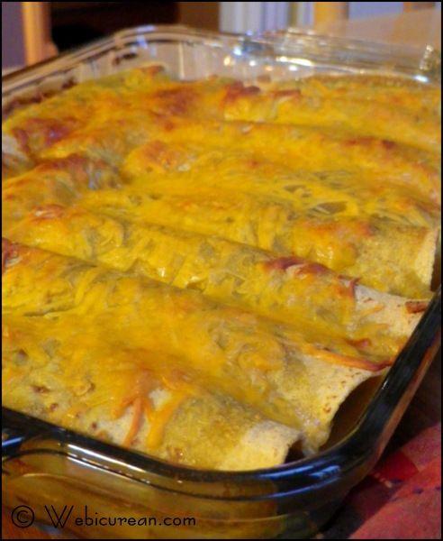 Turkey and Black Bean Enchiladas | Recipe
