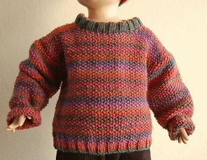 Free Childrens Jumper Knitting Patterns : Knit Sweater Pattern Craft Ideas Pinterest