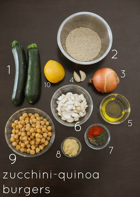 Zucchini Quinoa Burgers | yum recipes | Pinterest