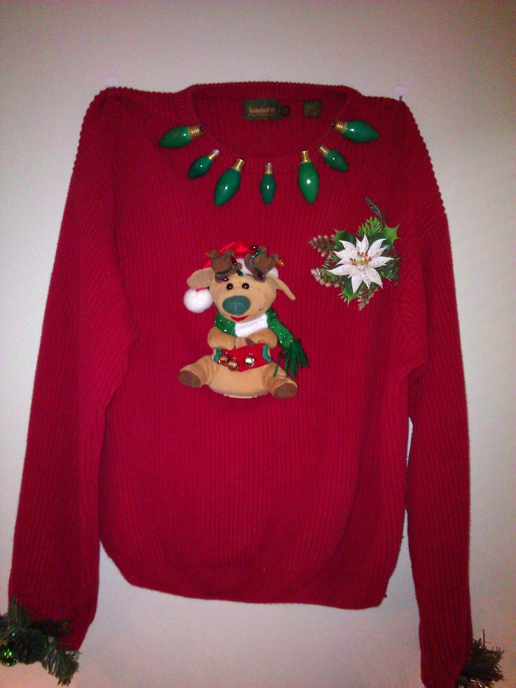 Pin by meghan o on ugly christmas sweaters pinterest for Ugly christmas sweater ideas make your own