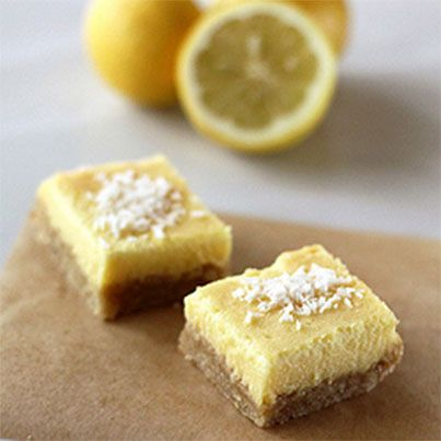 Meyer Lemon Bars | Recipes | Pinterest