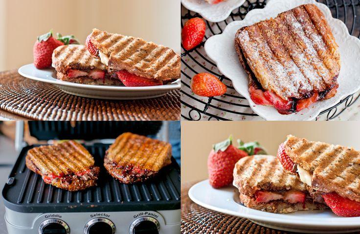 nutella strawberry banana panini press recipe better baking bible ...