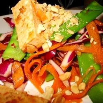 Asian Tofu Peanut Salad | For the Home | Pinterest