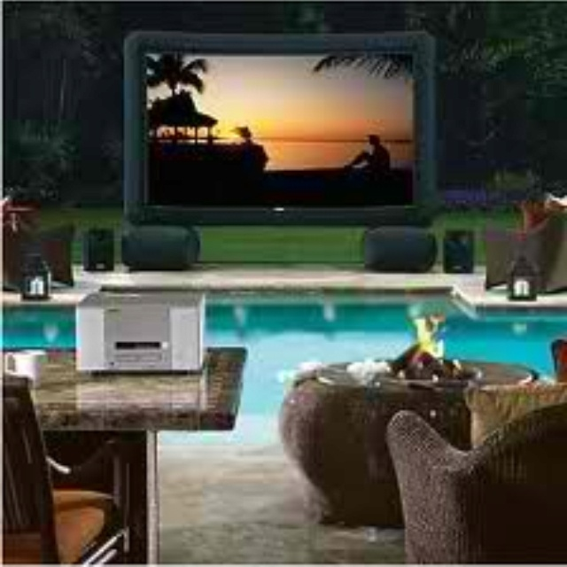 I really want this movie screen!