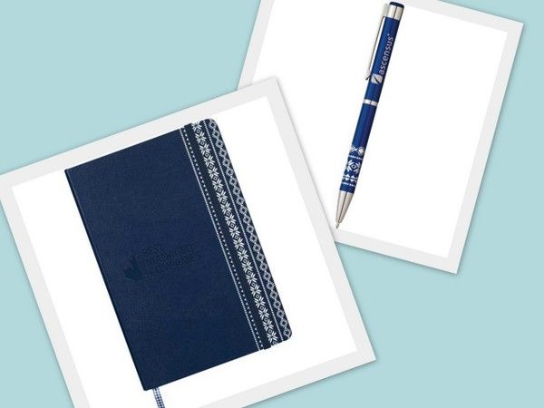 Fair Isle Ballpoint and JournalBook