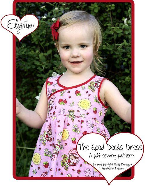 Dress a Child Around the World - UK: NEW DRESS PATTERN