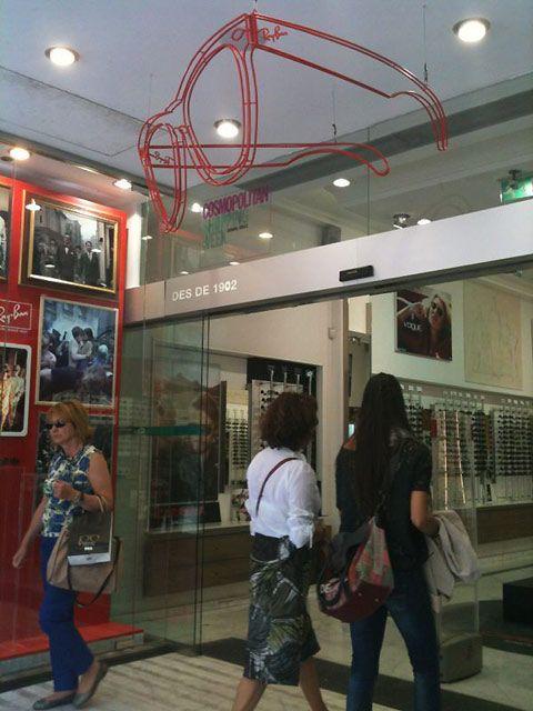 ray ban shop in barcelona