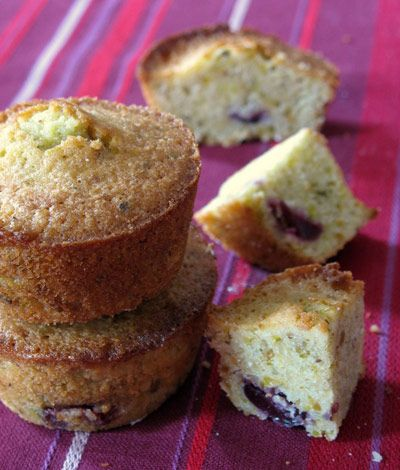 Pistachio Cherry Financiers Recipe - Saveur.com
