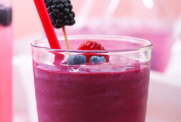 Driscoll's Mixed Berry Smoothie Recipe | Smoothies | Pinterest