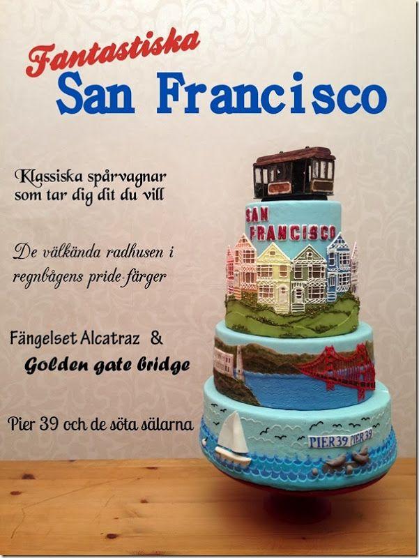San Francisco cake!