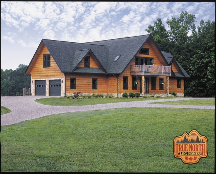 Pin By True North On True North Log Homes Ontario
