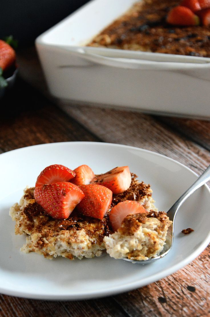 Creme Brulee Baked Oatmeal - The Housewife in Training Files