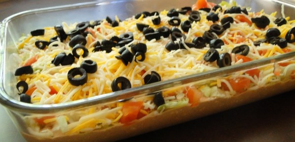 Skinny Taco Dip | Recipes - Dips, Spreads, Dressings & Sauces | Pinte ...