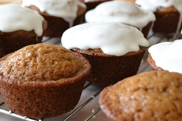 The View from Great Island | Gingerbread Muffins with Lemon Glaze