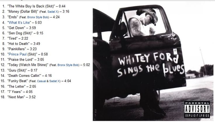 cd everlast whitey ford sings the blues 1998 classic movies. Cars Review. Best American Auto & Cars Review