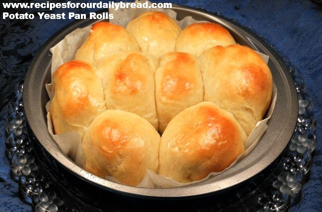 Potato Yeast Rolls-Light-As-A-Feather | breads, scones & shortcakes ...