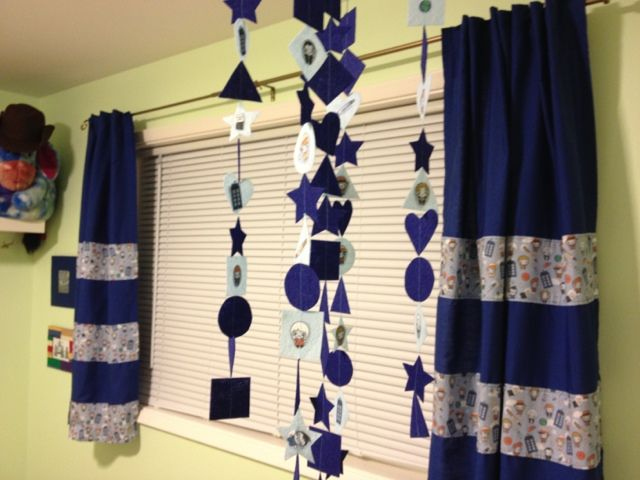 DIY Curtains   Dr Who Room   Pinterest