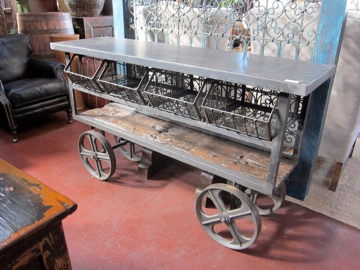 Home Industrial Style Furniture moreover Build Your Own Industrial ...