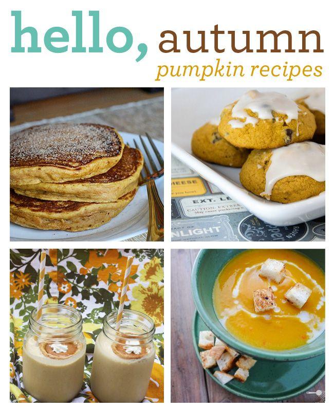 Pumpkin! Fall foods