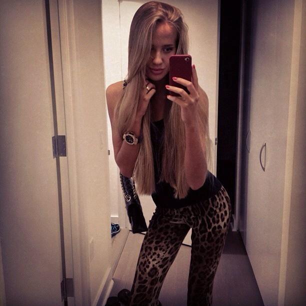 Tall Thin Blonde 57