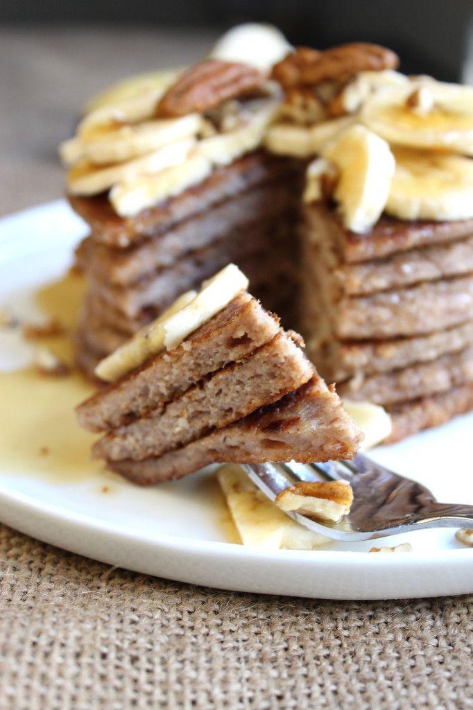 Banana Pecan Pancakes | Flapjack stack. | Pinterest