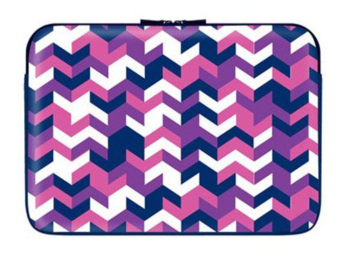 """Who says style is just for what you wear? Make sure your laptop looks good with a snazzy case! 13.3"""" Zippered Laptop Sleeve, $13.85, dormify.com"""