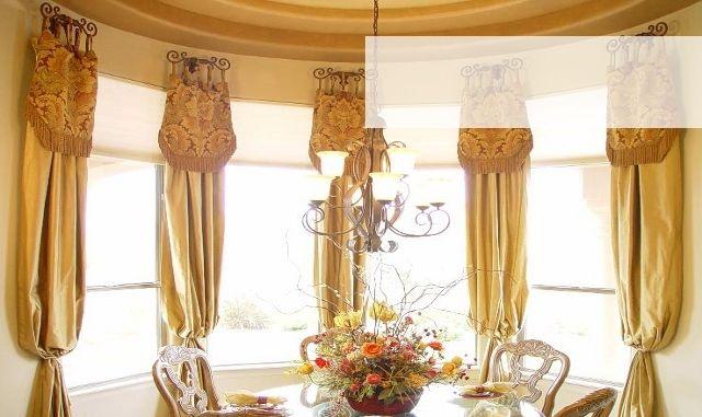 Fleur De Lis Shower Curtain Hooks Half-Size Curtain Rods