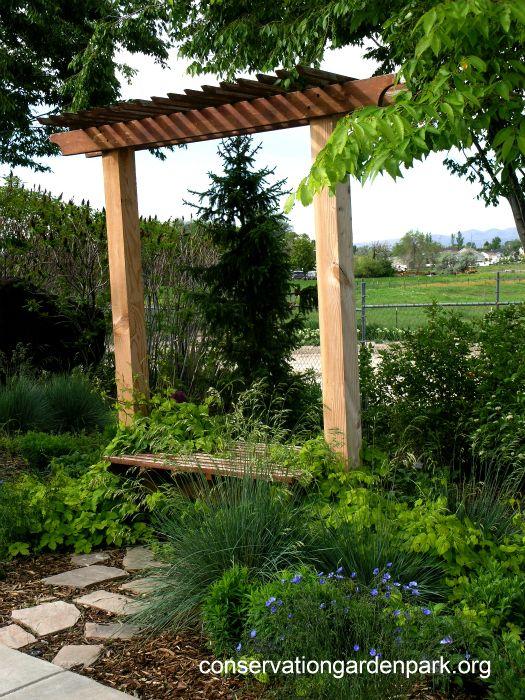 Arbor Bench Garden Gates Arbors Trellis Antiques Pinterest