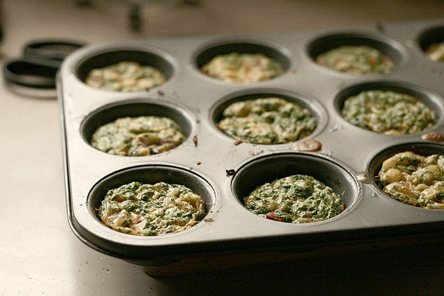 Mini crustless quiche | yums for your mouth part | Pinterest