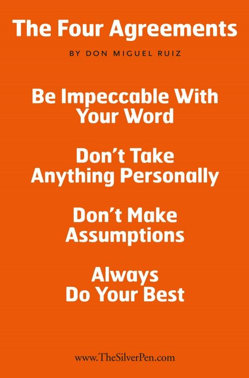 Quotes From The Four Agreements QuotesGram