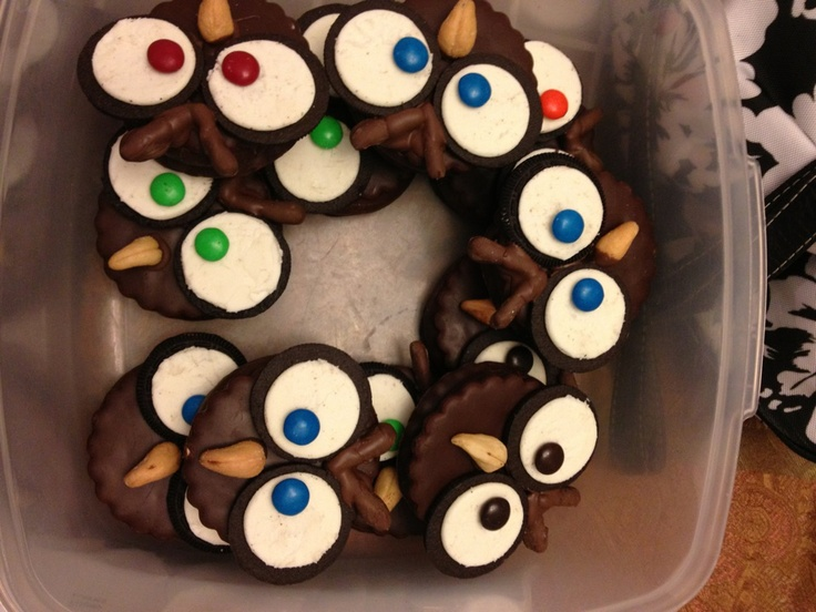 Moon Pie Owl Pops Recipe — Dishmaps