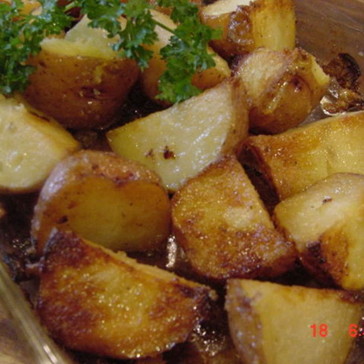 Honey Roasted Red Potatoes Recipe — Dishmaps