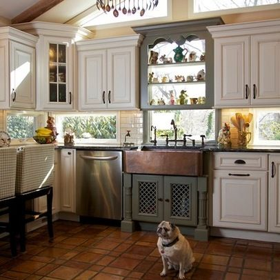 I love the windows under the cabinets kitchen pinterest for Window under kitchen cabinets