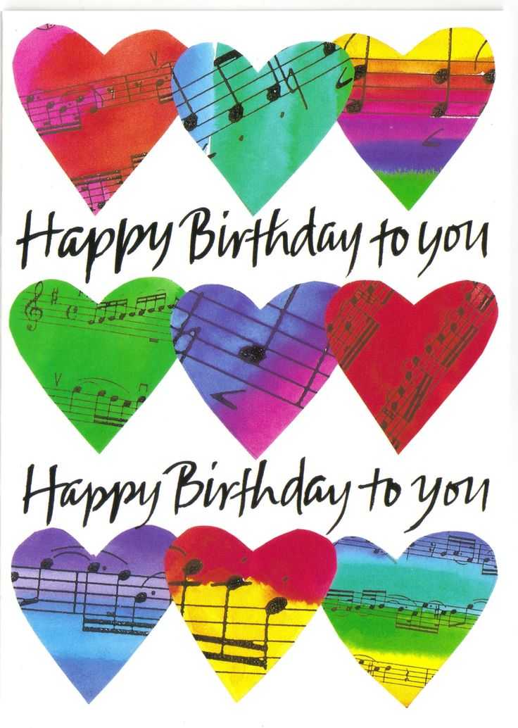 Musical birthday happy pinterest