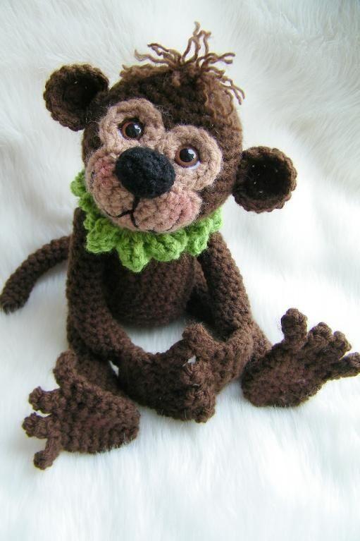 Crochet Monkey Pattern crochet Pinterest