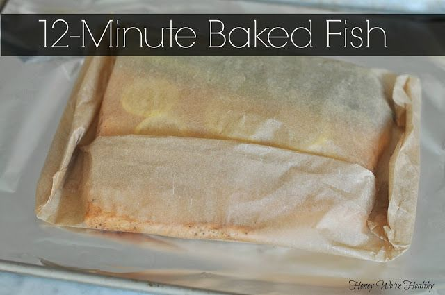 Baked Fish in Parchment Paper // Fish en Papillote