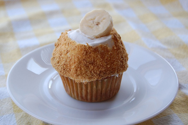 Banana Cream Pie Cupcake | for the eating | Pinterest